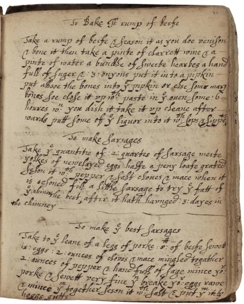 Baker, fol. 97 (folger v.a. 619)